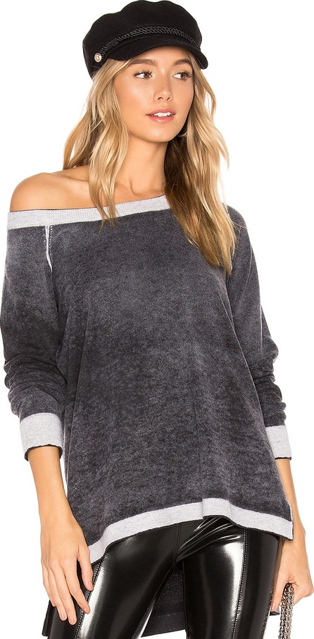 525 America Cashmere Reverse Printed Pullover