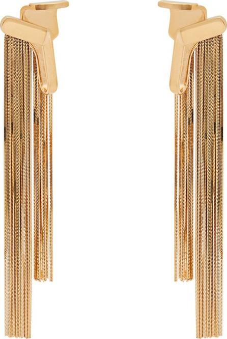 Alan Crocetti Cascade gold-plated drop ear cuffs