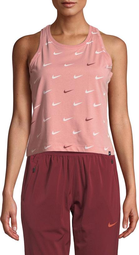 Nike Swoosh Cropped Activewear Tank