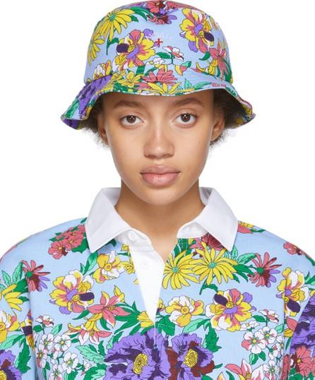 Noah NYC Multicolor Floral Rugby Bucket Hat