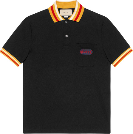 Gucci Polo with Gucci patch