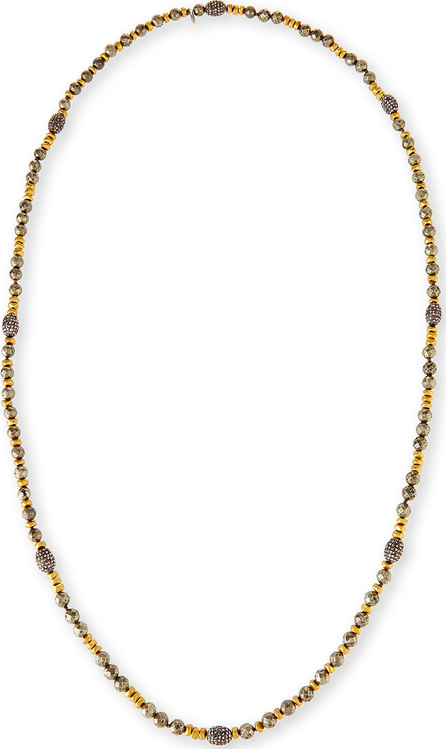 Hipchik Couture Ava Pyrite & Golden Nugget Necklace