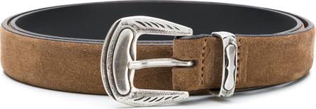 Eleventy Embossed buckle belt