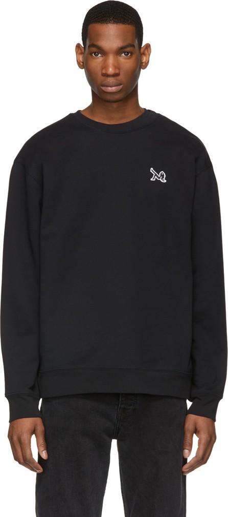 Calvin Klein Jeans Black Icon Embroidery Sweatshirt