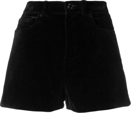 Saint Laurent Mini cord short shorts