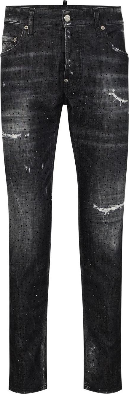 DSQUARED2 Diamond-wash skater-fit jeans