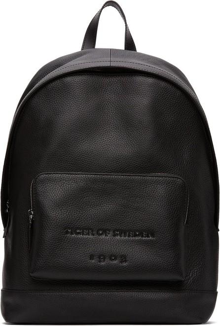 Tiger Of Sweden Black Sevrin Backpack