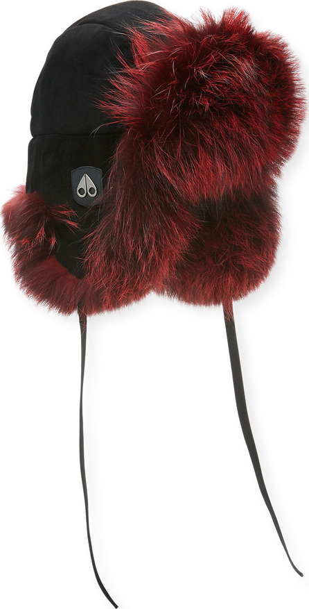 Moose Knuckles Casgrain Fox Fur Trapper Hat