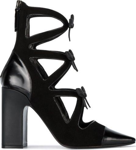 Fabrizio Viti Take a bow 100 block heel boots