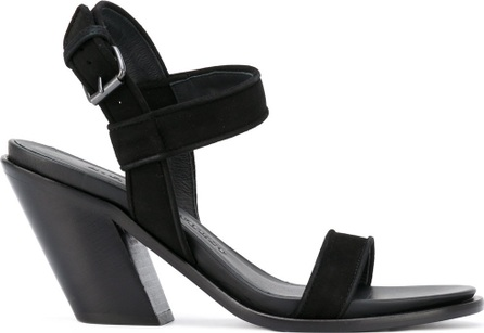 A.F.Vandevorst diagonal heel buckled sandals
