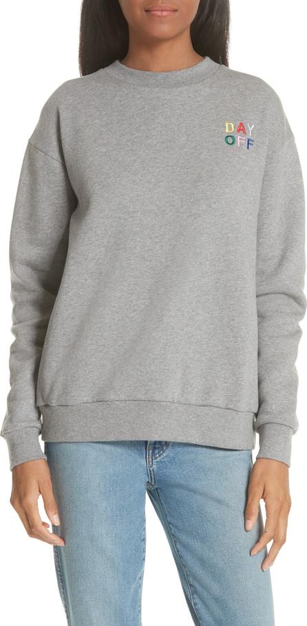 Etre Cecile être cécile Day Off Totally Boyfriend Sweatshirt