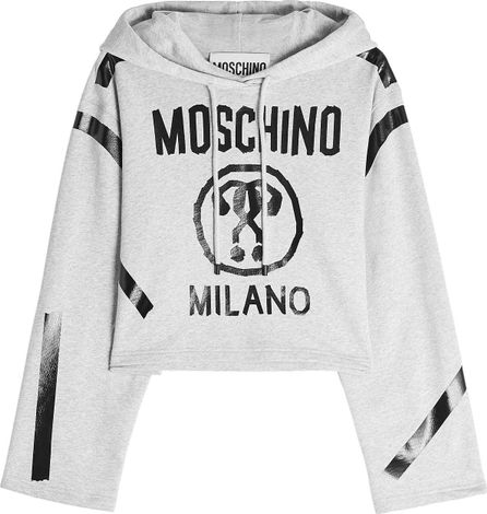 Moschino Printed Cotton Hoodie
