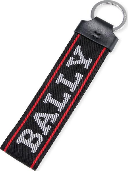 Bally Men's Web Loop Key Ring