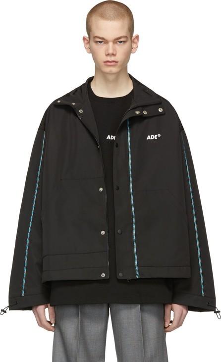 ADER error Black Ade Jumper Jacket