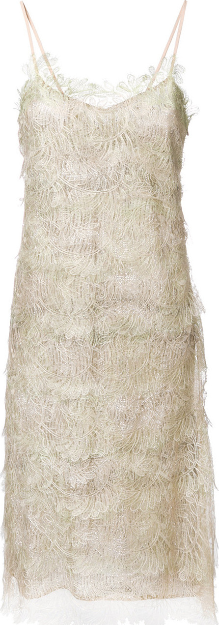 Ermanno Scervino Embroidered midi dress