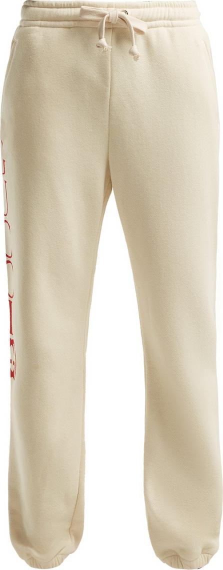 Gucci Logo mid-rise cotton track pants