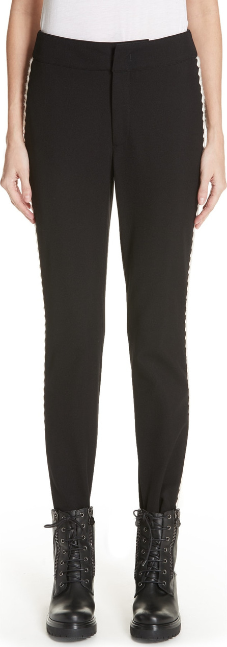 Moncler Embroidered Stirrup Ski Pants