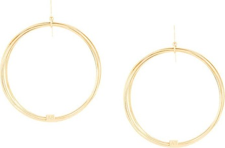 Aurelie Bidermann thalia hoop earrings