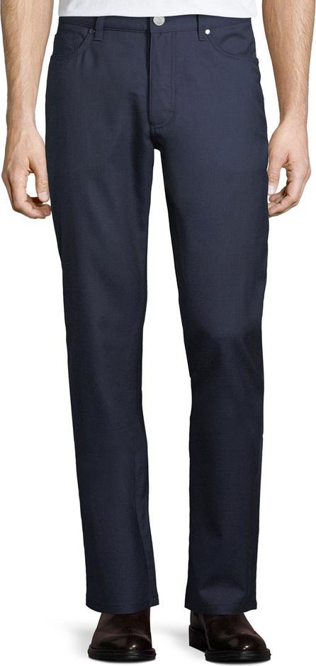 Ermenegildo Zegna 5-Pocket Straight-Leg Wool Pants