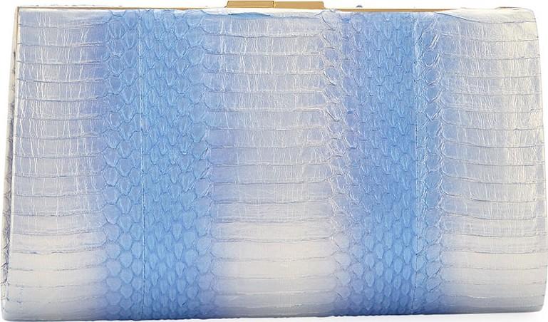 7b1bce92650f Nancy Gonzalez Colette Exposed Frame Clutch Bag in Blue - mkt