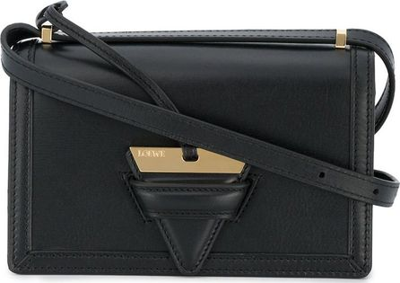 LOEWE black small Barcelona shoulder bag