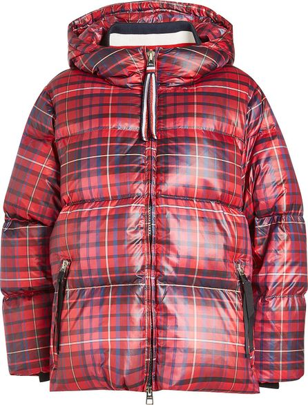 Hilfiger Collection Printed Down Jacket with Hood