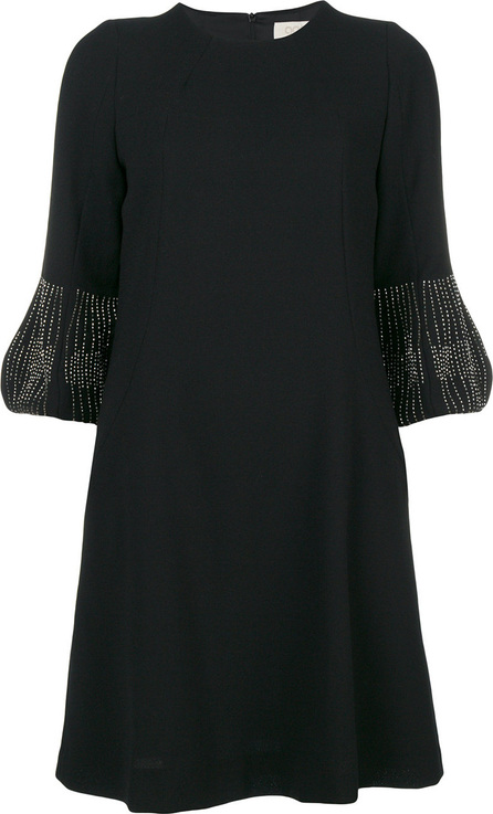 Goat Beaded sleeve tunic dress
