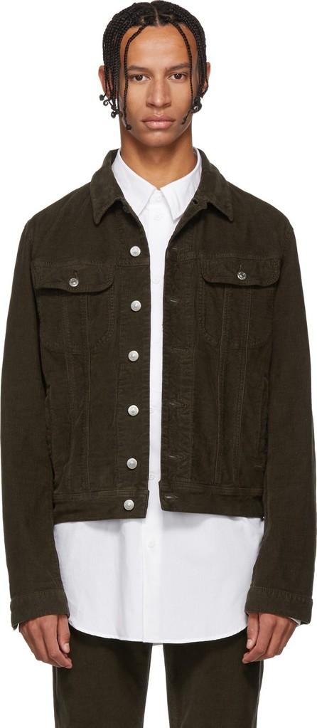 Acne Studios Blå Konst Brown Blå Konst Tent Jacket