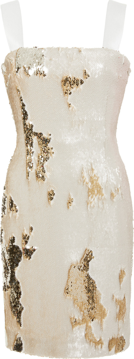 Galvan Salar Sequin Mini Dress