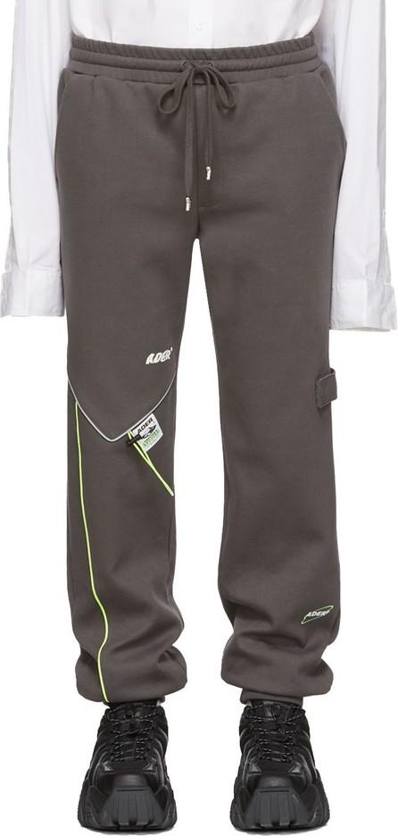 ADER error Grey Piping Incision Lounge Pants