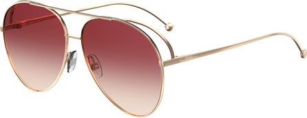 Fendi Gradient Aviator Sunglasses