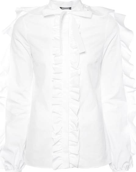 Giambattista Valli Long sleeved ruffle shirt