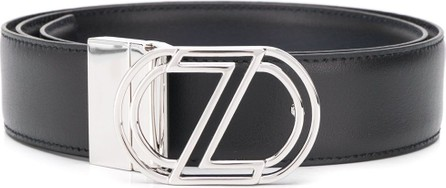 Z Zegna Logo buckle belt
