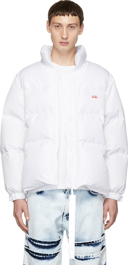 Anton Belinskiy White Down Jacket