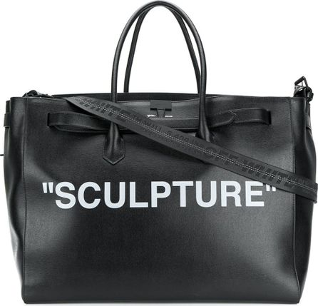 Off White Sculpture luggage bag