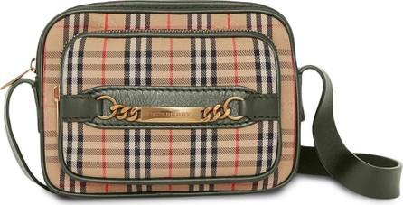Burberry London England The 1983 Check Link Camera Bag