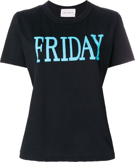 Alberta Ferretti Friday print T-shirt