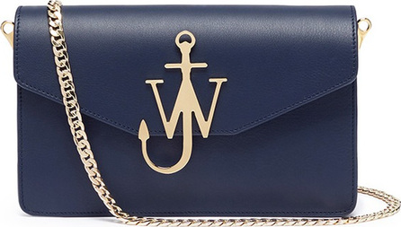 J.W.Anderson Logo calfskin shoulder bag
