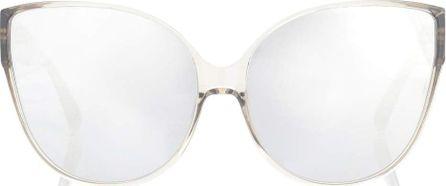 Linda Farrow Oversized cat-eye sunglasses