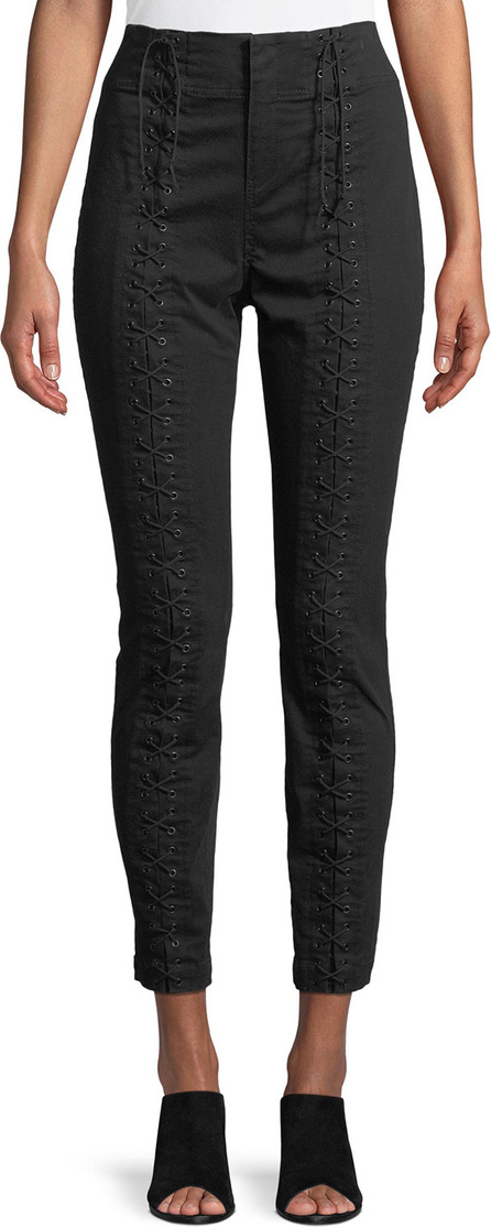 A.L.C. Kerrigan Lace-Up Skinny-Leg Pants