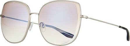 Barton Perreira Espirutu Mirrored Butterfly Sunglasses