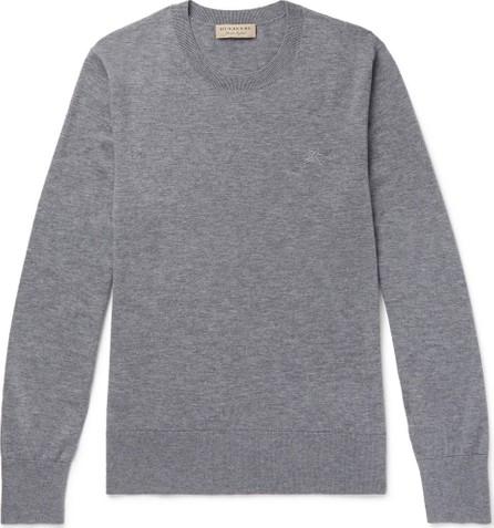 Burberry London England Mélange Cashmere Sweater