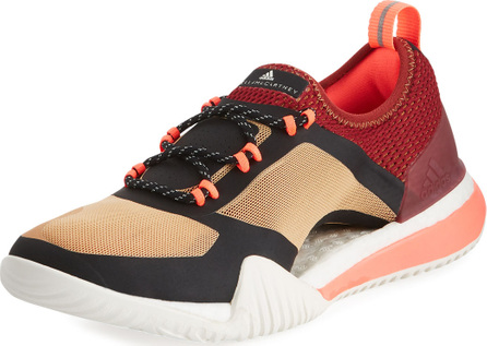 Adidas By Stella McCartney PureBoost X Mesh Sneaker, Black/Red