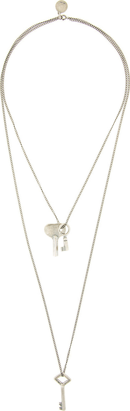 Ann Demeulemeester Key pendant necklace
