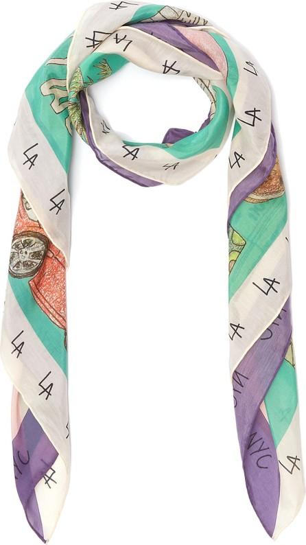 Cjw LA/NYC' Mini scarf