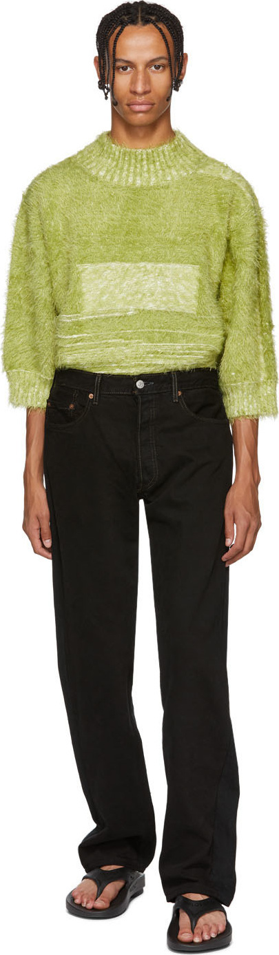 Bless Black Levi's Edition Pleatfront Jeans