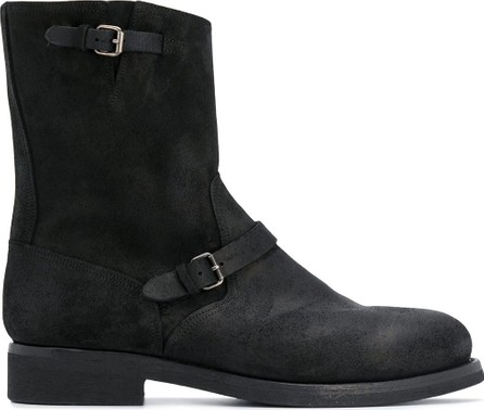 Buttero Buckle-detail ankle boots