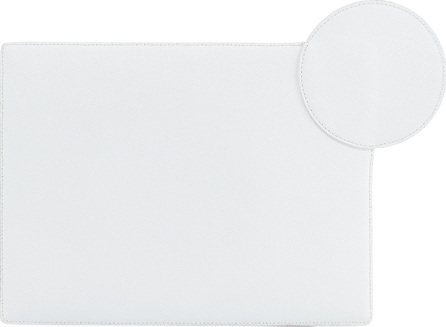 Roksanda Aplin Flat Leather Clutch Bag