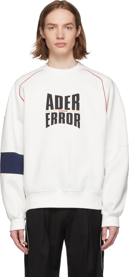 ADER error White Form Logo Sweatshirt