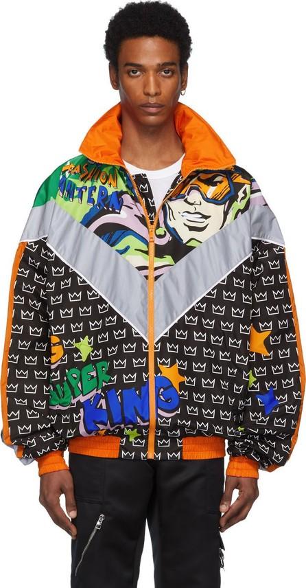 Dolce & Gabbana Black Superheroes Jacket